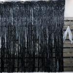 은박 파티커튼 (1mX3m) 블랙