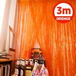 은박 파티커튼 (1mX3m) 오렌지