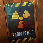 DANGER 방사능 포스터