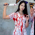 피 묻은 간호사복