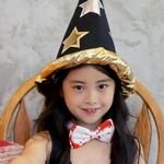 마법사 고깔모자 (별모양/골드)