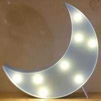 LED 앵두전구 조명등 (달 블루)