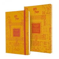 몰스킨 한정판 해리포터 룰드 노트북 하드커버 라지 컬렉터 에디션