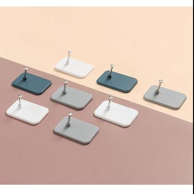 인테리어소품걸이 2P세트 초강력 열쇠고리 못없이 벽에 붙이는 매직행거 1세트당2개구성 욕실걸이 옷걸이 벽부착후크 모자걸이 다용도후크 매직후크