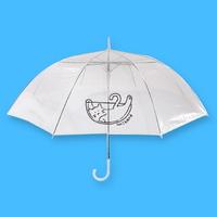 뭐냥 투명우산
