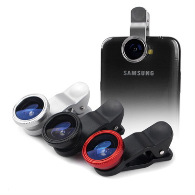 3in1 스마트폰용 광각렌즈 LIE Q-1