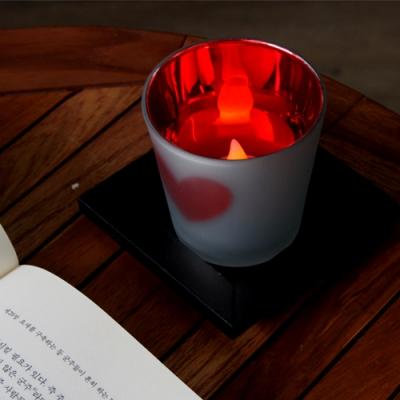 러브 하트컵 LED 티라이트 홀더