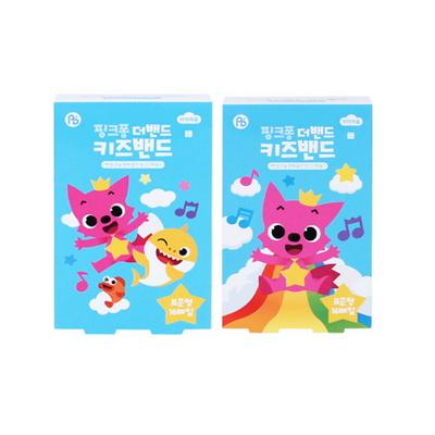 핑크퐁 더밴드 키즈밴드 - 표준형 (16매)