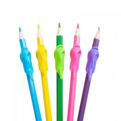 돌고래 실리콘 연필 교정기 펜그립 5p set