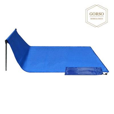 고르소 휴대용 캠핑 등산 낚시 돌돌이 체어(더블형)