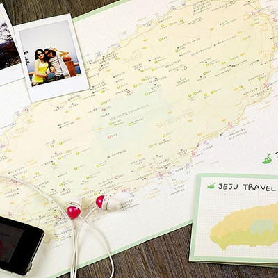 Jeju Travel Pocket Map - 제주도