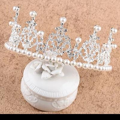 티아라 왕관 생일 파티 웨딩 이벤트 케이크