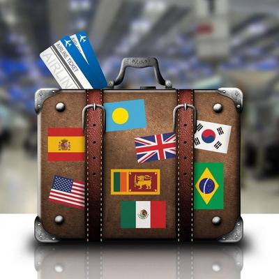 캐리어 데코스티커 - 세계국기