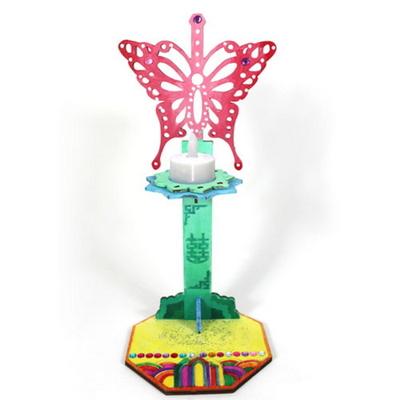 전통 나비촛대 만들기 세트 키트(1인용)