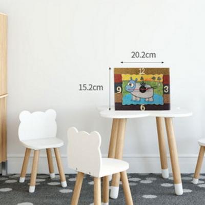 코르쵸 시계 만들기 DIY 세트-우드공예 클레이공예