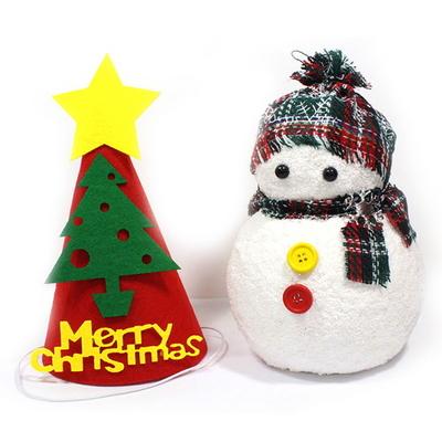 펠트 트리 고깔모자_크리스마스 DIY 만들기