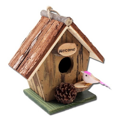 솔방울 나무 새집 만들기