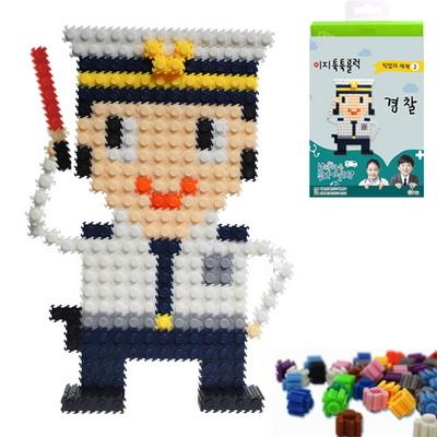 이지 툭툭블럭 직업시리즈2-경찰