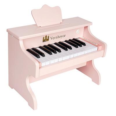 어린이피아노 레노피아 25건반 파스텔핑크 Vernhoyce VH-25 Pink