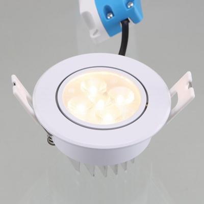 3인치 LED 다운라이트 일체형 5W 유백 전구색 KC인증