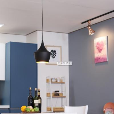 카페조명 식탁 팬던트 1등 칵테일 항아리 (블랙) 60CM