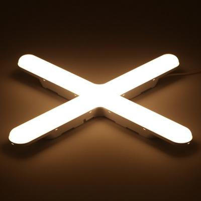 LED 십자등 55W PL등기구(전구색) 플리커프리제품