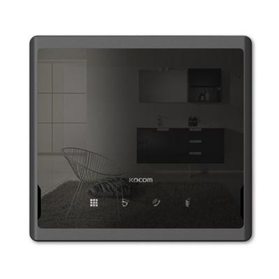 비디오폰 칼라 LED 코콤 7인치 KCV-S701 블랙