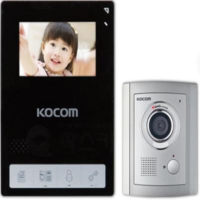 비디오폰 컬러LED 코콤 4.3인치 KCV-436 블랙