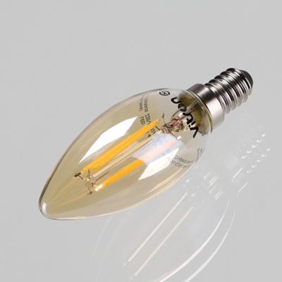 별별조명 에디슨 LED 촛대구 (골드) 4W 2.7K E14 KS