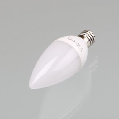 별별조명 촛대구 LED 5W E17 3K 불투명전구