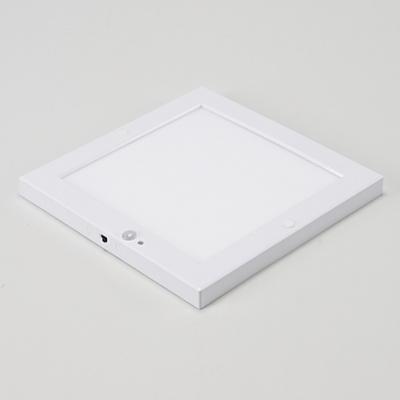별별조명 사각 LED 센서등 엣지 8인치18W(전구색)