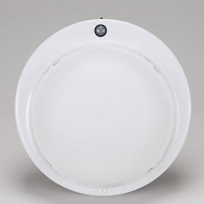 원형 PVC 비상 센서등 삼파장용 2등 (비상+센서) 신우