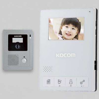 비디오폰 컬러LED 코콤 4.3인치 KCV-434 화이트