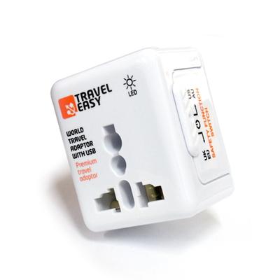 USB고급일체형 멀티아답터 (전세계용) 트레블이지