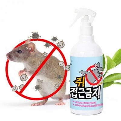 친환경,인체무해 쥐 접근금지(500ml)