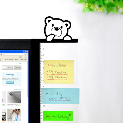 모니터 멀티보드-애니윙(곰)