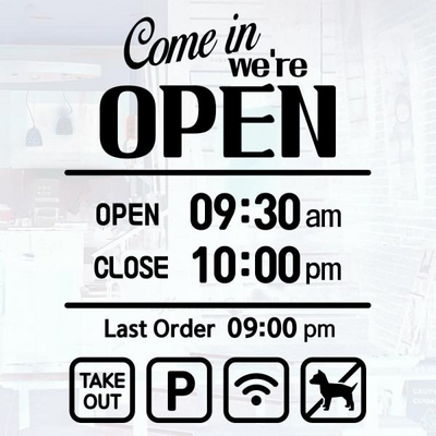 오픈클로즈_001_Come in we are OPEN