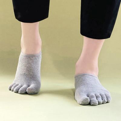 남성 심플 발가락 페이크삭스 양말 5켤레