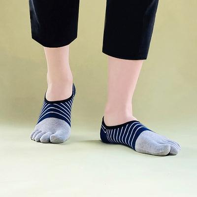남성  링글라인 발가락 페이크삭스 양말 5켤레