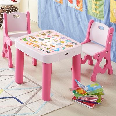 하이지니프로 유아책상(책장포함) 의자SET_파스텔핑크,블루 2COLOR