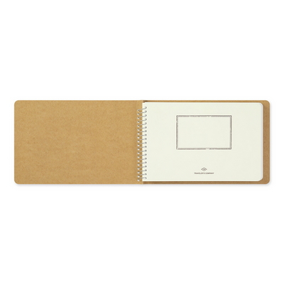 SPIRAL RING NOTEBOOK (B6) MD White
