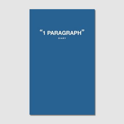 1 Paragraph diary-Riverside Blue