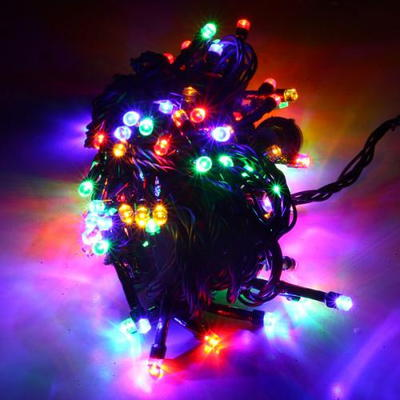 LED 크리스마스 전구(100구)-컬러