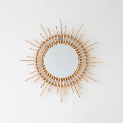 메리골드 라탄 거울
