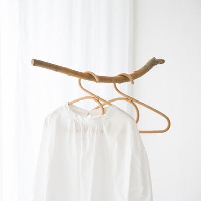 라탄 옷걸이 (대) 3P