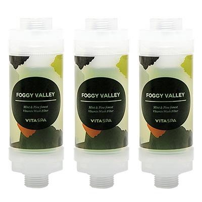 비타스파 녹물제거 비타민 샤워기 샤워필터 (숲속의아침3개)