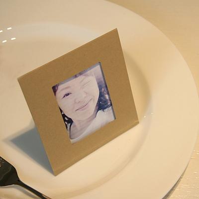 폴라로이드 미니액자 - 크라프트 (5매)