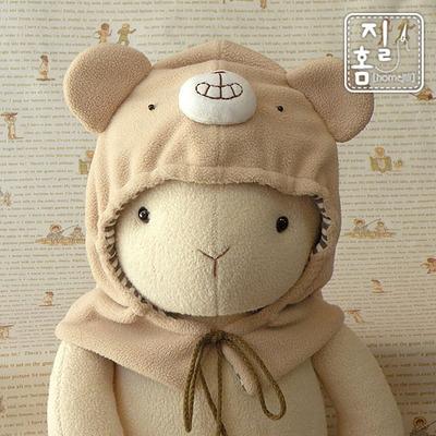 따뜻한 겨울 곰돌이 후드 만들기