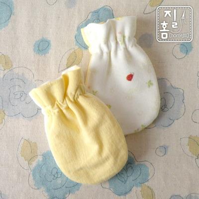노랑 풍뎅이 손싸개 만들기