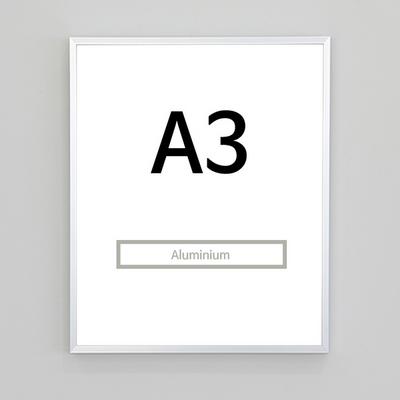 알루미늄액자 A3 규격액자(7컬러) 인테리어 액자